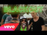 The Americanos &amp Lil Jon, Juicy J, Tyga - Black Out (Official Music Lyric Video 16.09.2015)