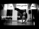 generations Ace, Kujo, Pop .stance