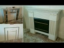 красивый камин своими руками, монтаж гипсокартона. Plasterboard Fireplace install.