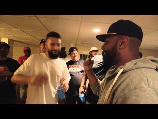 KOTD - Rap Battle - Pass vs Caustic [Rhymes & Punches]
