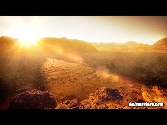 Martian Sandstorm White Noise | Study Sound For Focus, Homework, Writing, Reading Math | 10 Hours