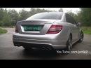 Mercedes Benz C63 AMG Sound!! Revs - accelerations - ride!! - 1080p HD
