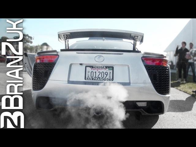 Lexus LFA Revving Hard