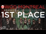 KRANKYD  1st Place - Junior Division  World of Dance Montreal 2015 #WODMTL