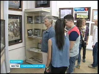 Выставка Сергея Андрияки открылась в Ессентуках