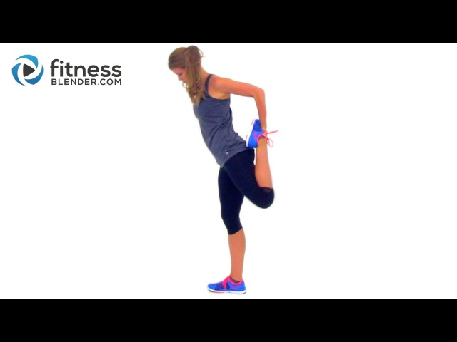 FitnessBlender - Cool Down and Stretching Workout   Заминка и растяжка