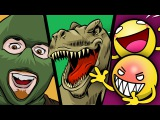BLUES CLUES, CYBER SEX, GERMAN DINOSAURS (Trouble in Terrorist Town, Prop Hunt, Dino D-Day)