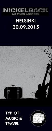 Nickelback - Хельсинки - 30.09.15