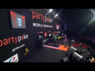 Brendan Dolan vs Jelle Klaasen (World Grand Prix 2015 / Round 1)