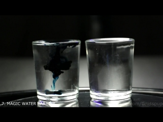 10 красивых научных фокусов с водой