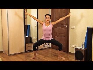 3 упражнения для похудения и плоского живота!!!