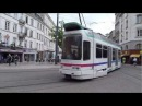 STAS Saint-Étienne - 2 Tramways Alstom-Vevey TFS (Place du Peuple)