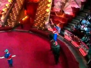 Яна Шаникова и Яна Чурикова в ТВ - проекте Цирк со звездами 2007