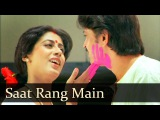 Saat Rang Main Khel - Rakesh Roshan - Smita Patil - Akhir Kyon - Amit Kumar - Holi Hindi Songs