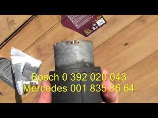 Замена щеточек циркуляционного насоса Mercedes w210. Функция REST
