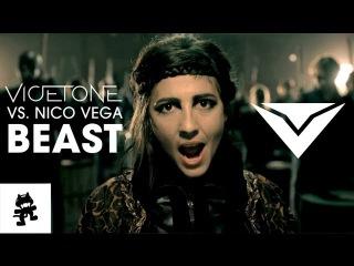 Vicetone vs. Nico Vega - Beast [Monstercat Official Music Video]
