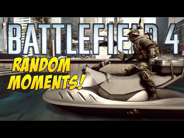 Battlefield 4 Random Moments 1 Welcome to Battlefield 4 Commander Drop