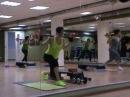 Планка усложнение выпады. SuperFitness Company - обучение фитнес инструкторов.