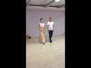 Репетиция свадебного танца Юли и Вовы