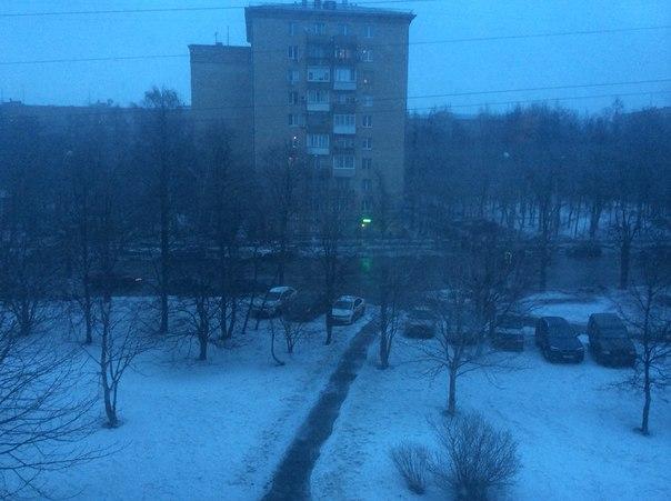 Пришла весна пошел снег все оч