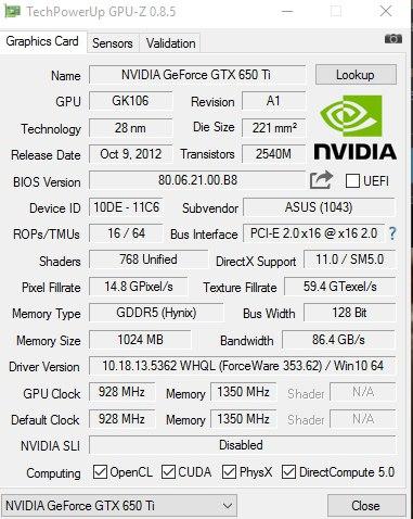 видеокарта gts 450 palit ddr3