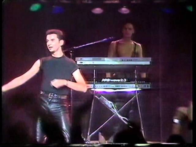 DEPECHE MODE A question of time..tocata 1985 TVE