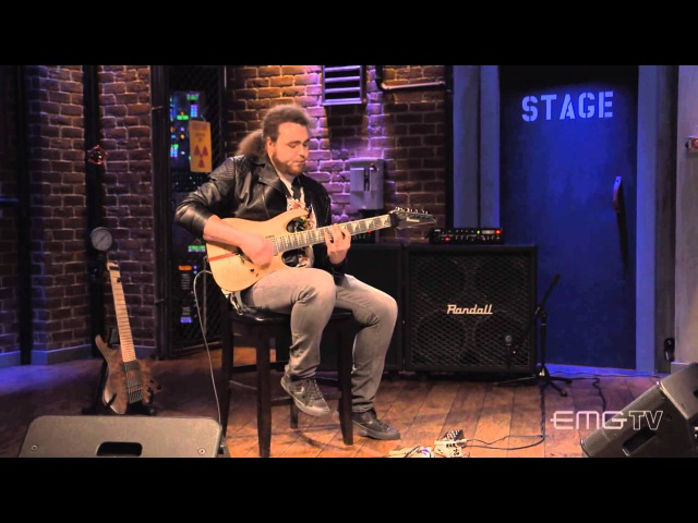John Browne of Monuments performs I, The Creator on EMGtv