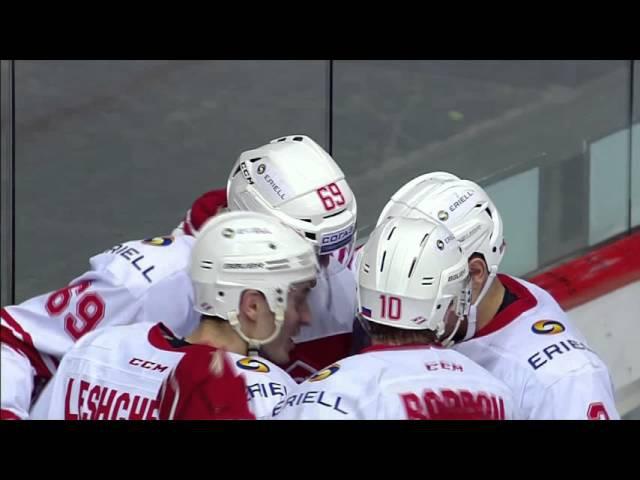 Lukas Radil scores his first KHL goal / Радил забивает по спартаковским канонам