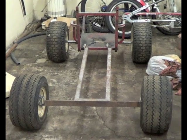 HOMEMADE shifter kart build 5 speed day-1