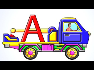 Развивающие мультфильмы про буквы алфавита. Азбука с Машей. Буква А