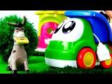 Английский для детей! Животные на ферме. Английские слова - Животные на английском! Ослик, Корова.