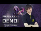 Dota 2 Stream: Na`Vi Dendi -  Templar Assassin (Gameplay & Commentary)