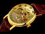 Наручные мужские часы. Обзор модели Skeleton Winner