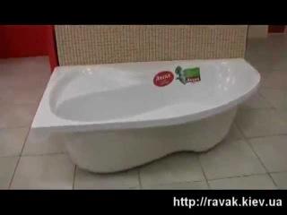 Проверка на прочность ванн Ravak ЕвроСантехника