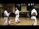 Kumite Training with Sensei Gyula B