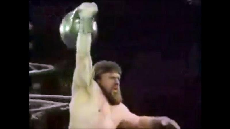 Валентин Дикуль силовое жонглирование в цирке 1985