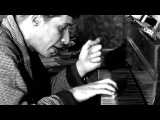 Glenn Gould practicing Johann Sebastian Bach's Partita No.2 in C minor, BWV 826