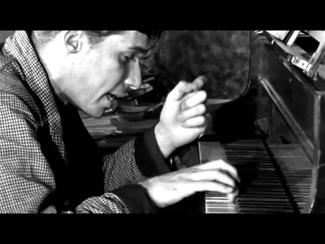 Glenn Gould practicing Johann Sebastian Bach's Partita No 2 in C minor BWV 826 HD 720p