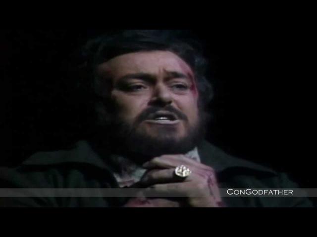 Luciano Pavarotti - E Lucevan Le Stelle Metropolitan Opera (1080pHD)