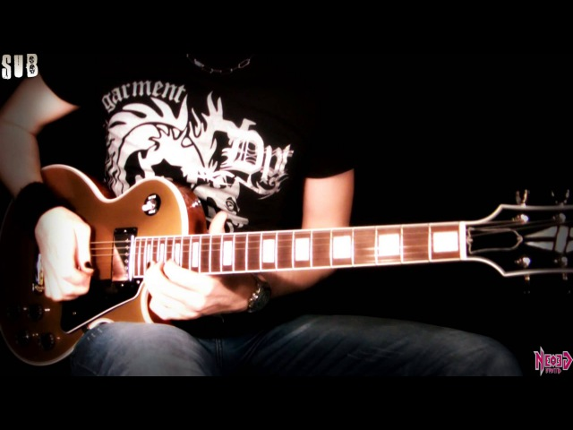 Hard Rock solo - Gibson Les Paul Classic Custom Gold Top - Neogeofanatic