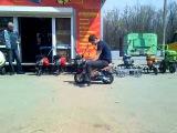 Настройка карбюратора на мини мотоцикле