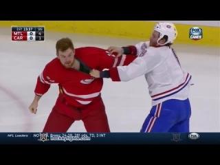Brandon Prust vs Brad Malone Dec 29, 2014