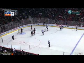 Ducks at Blues Last Minute of the 3-rd Period 01/02/2015