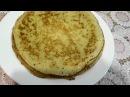 Как приготовить тонкие блинчики с манкой Thin delicate pancakesa