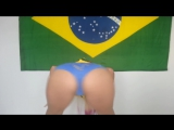 Debora Fantine  Dançando o Hino Nacional | Brazilian Girls vk.com/braziliangirls