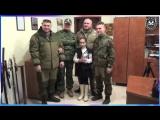 Награждение Нещерет Богданы медалью За отвагу и мужество от 30.11.2015