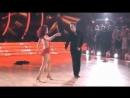 Nick Carter & Sharna Burgess dance the SalsaTango Fusion