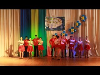 Выступление 10-го класса на Малахитовой Шкатулке, танец