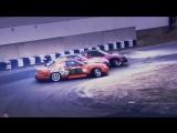 Drift Vine | Nissans Silvia s13 Team Burst & Origin Labo. Tandem train
