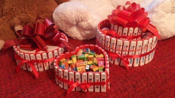 Сладкий подарок для девушки на день рождения